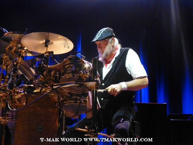 Mick Fleetwood During Fleetwood Mac World Tour 2013