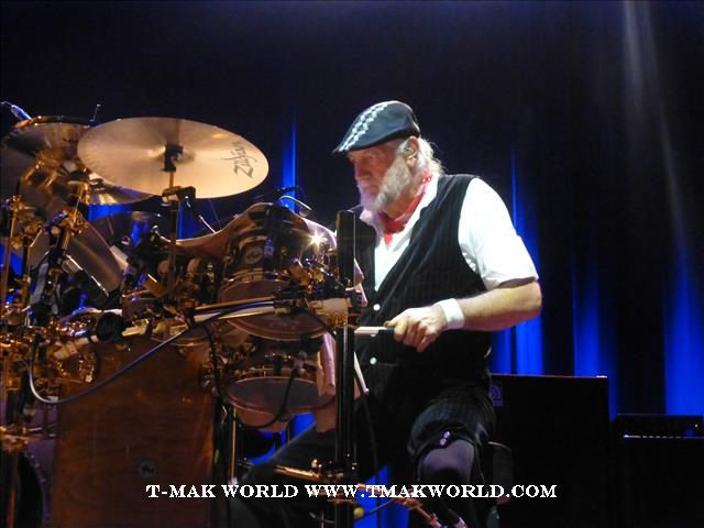 Mick Fleetwood - Fleetwood Mac 2013 Newark NJ Concert Review