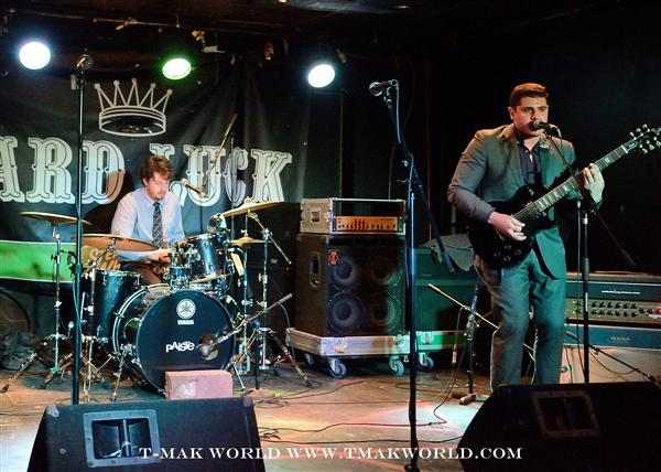 The Blue Stones at Hard Luck Bar