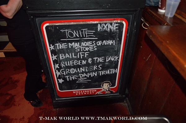The bill at The Legendary Horseshoe Tavern for Day 1 of NXNE 2013