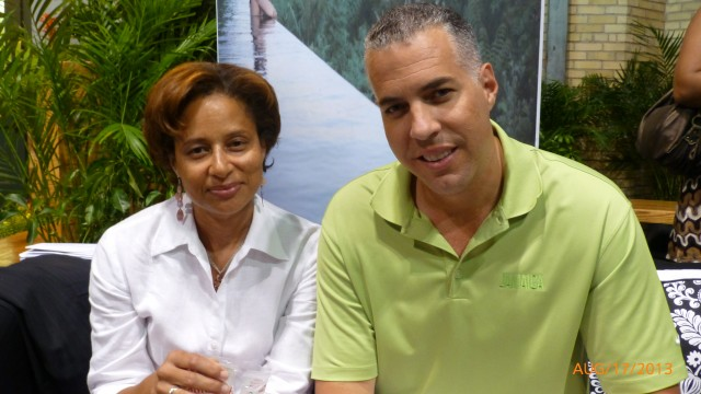 Shelley John - St. Vincent and the Grenadines Tourism Board, Philip A. Rose - Regional Director - Jamaica Tourist Board