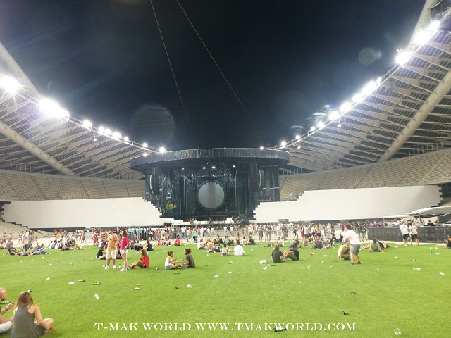 Olympic Stadium - Roger Waters The Wall in Athens Greece