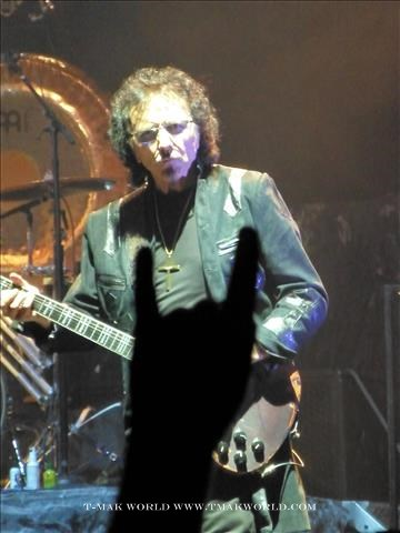 Tony Iommi of Black Sabbath Toronto August 14 2013