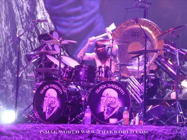 Tommy Clufetos - Black Sabbath Toronto August 14 2013
