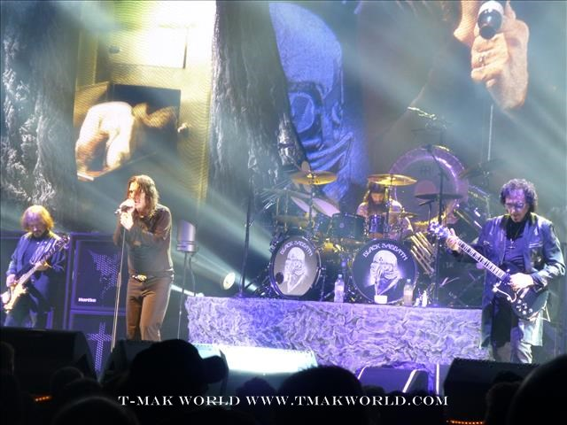 Black Sabbath in Toronto August 14 2013
