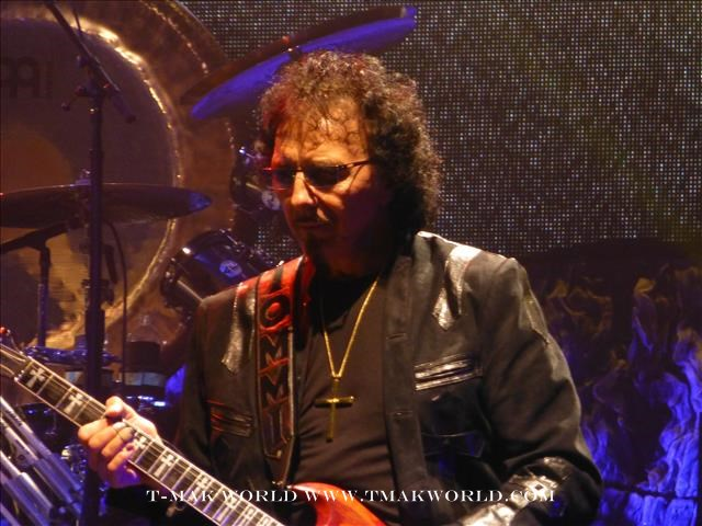 Tony Iommi - Black Sabbath in Toronto August 14 2013