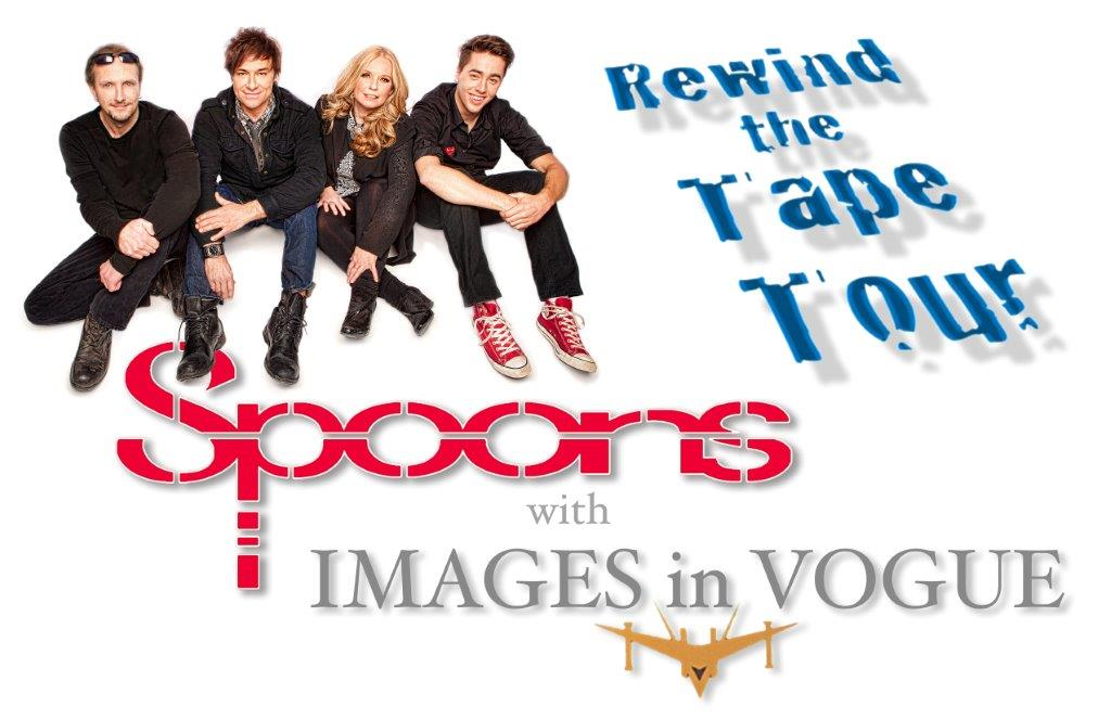 The Spoons and Images In Vogue Rewind The Tape Tour 2013