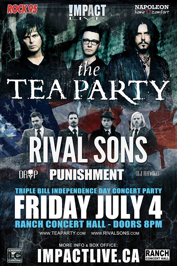 TEA PARTY-Rival Sons Poster Final