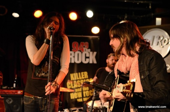 RIval Sons at a special 94.9 The Rock performance