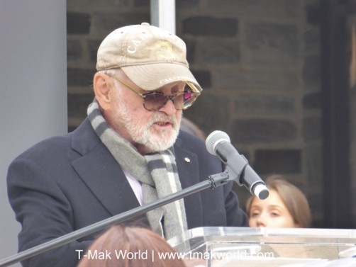 Norman Jewison at the CFC BBQ