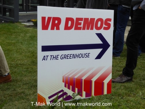 VR Demos at the Greenhouse at CFC BBQ 2015