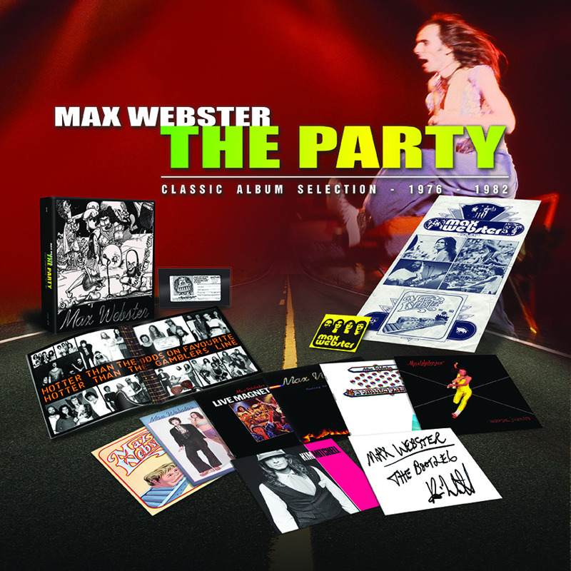 Max Webster The Party Box Set