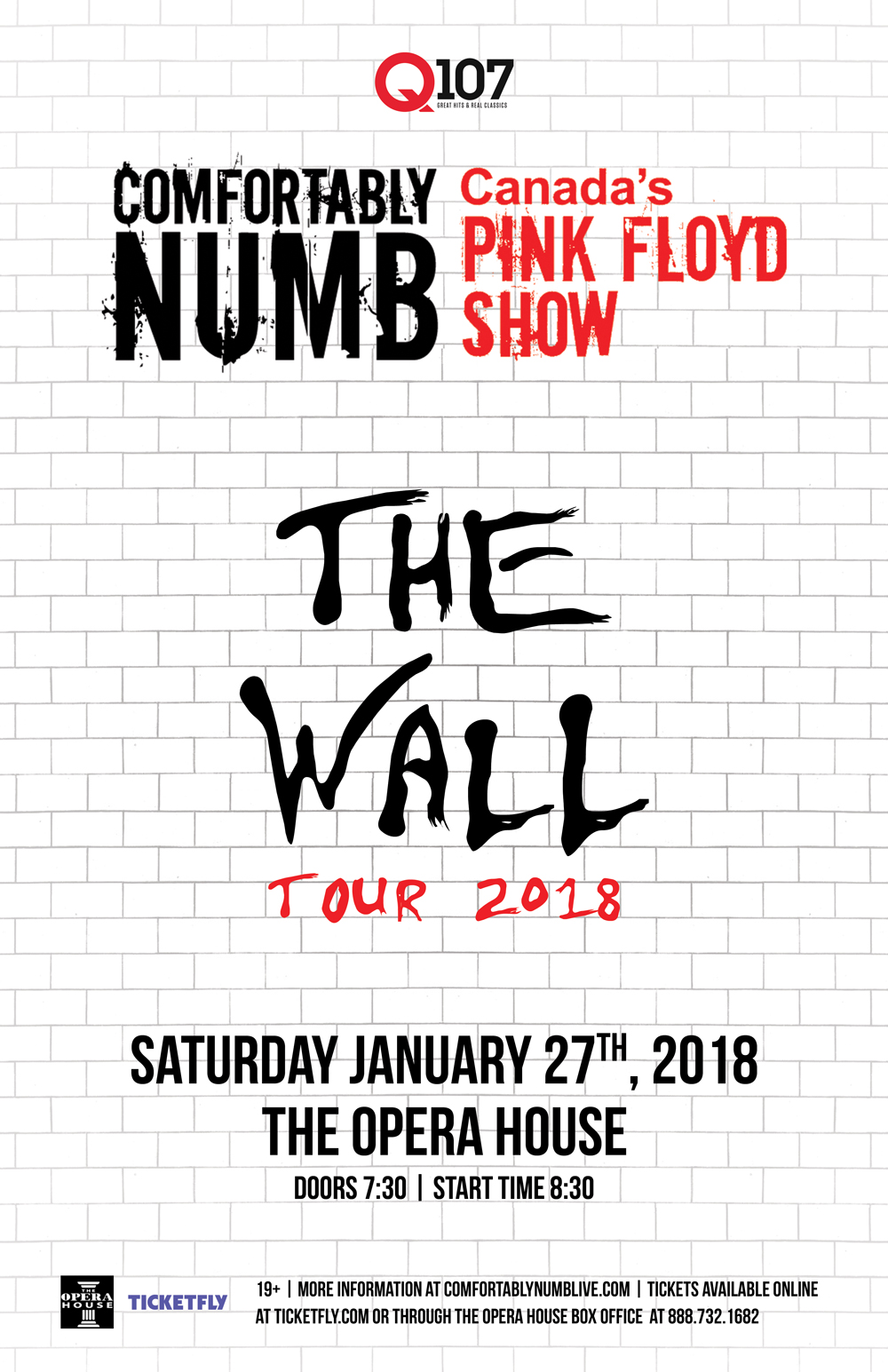 Comfortably Numb The Wall