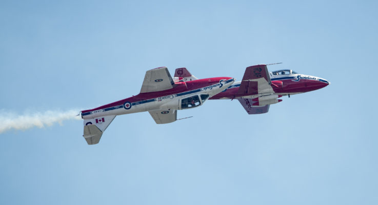 Best Spots to See the CNE Air Show